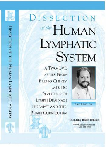 DVD (set of 2 DVD): Dissection of the Human Lymphatic System (DDHLS)